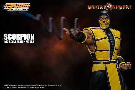 Storm Collectibles Scorpion Mortal Kombat Klassic